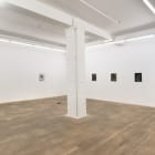 Bauer. Croxson. Lichty. Wood., 2012, installation view, Foxy Production, New York