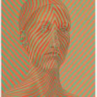 Sascha Braunig, Chevron, 2012, oil on canvas over panel, 18 x 14 in. (45.7 x 35.5 cm.,) SB_FP2209