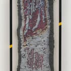 Borna Sammak, Long Boy, 2013, Mob Griptape, framed: 51 × 31 × 2 in.