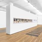 Installation view, Michael Wang, World Trade, 2017, Foxy Production, New York