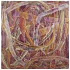 Gabriel Hartley, Scrap, 2012, oil and spray paint on canvas, 78 3/4 x 78 3/4 in. (200 x 200 cm)