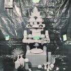 Sara Cwynar, Islamic Dome (Plastic Cups), 2014, chromogenic print mounted on Plexiglas, 30 x 24 in. (76.2 x 61 cm.,) SC_FP2766