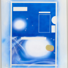 Ester Partegàs, Studies on Mysticism (Blue Stellar), 2010, acrylic and graphite on paper, 43 1/2 x 33 1/4 in. (110.5 x 84.5 cm.) paper size, 47 x 37 in. (119.4 x 94 cm.) frame size, EP_FP1710
