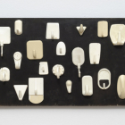 Hany Armanious, Porcelain Palace, 2008, Cast polyurethane on plywood, 8 x 16 x 2 in. (20.3 x 40.6 x 5.1 cm.) HA_FP1538