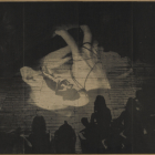 David Noonan, Untitled, 2007, silkscreen on linen, 84 x 120 in. (213.5 x 305 cm.,) DN_FP897
