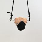 Matt Savitsky, UNTITLED (PART OF ROOM FACE REALNESS), 2012, plaster, cosmetics, PVC, rope, turban