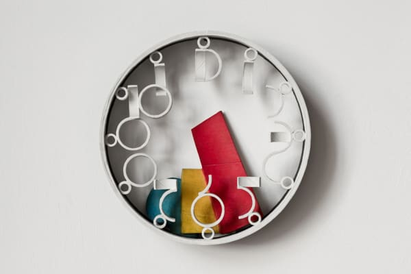 Wall Clock with Primary Parts