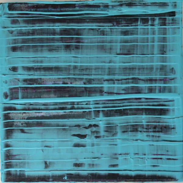 "Marsh Point, acrylic polymers on canvas, 22""x 22"", 2015"