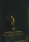 Ludwig Van Schauen, Artist unknown, 2017, human being and mixed media, dimensions variable