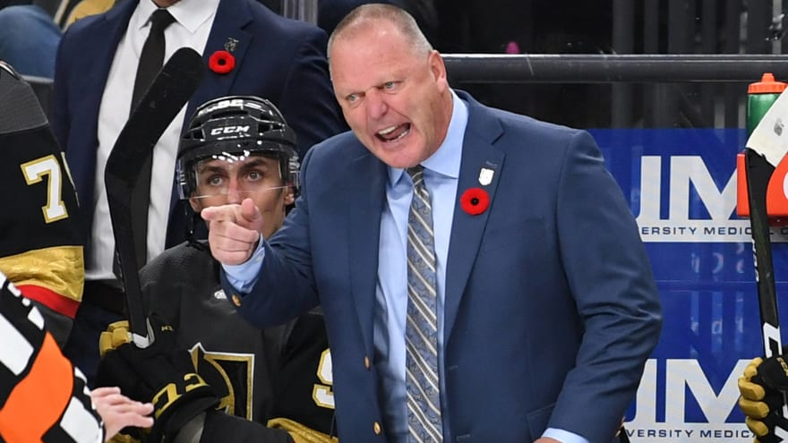 After getting fired by Golden Knights, Gerard Gallant not expected to coach again this season