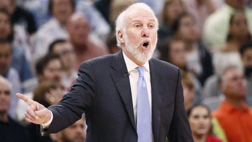 Spurs coach Popovich blasts President Trump - Sports
