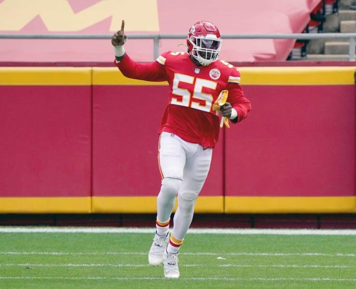 Chiefs: Frank Clark, DE
