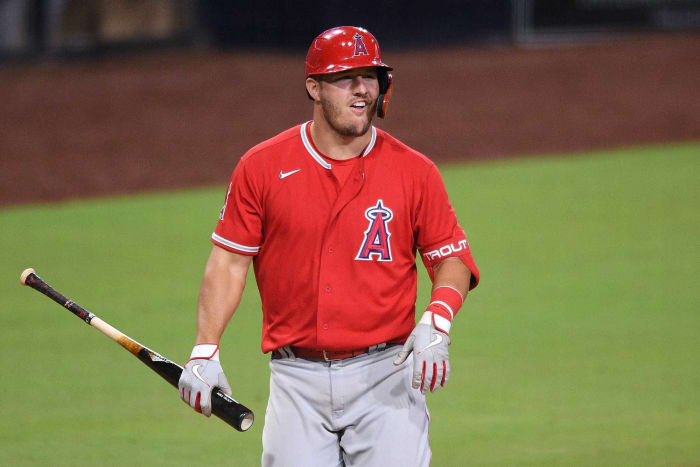 29: Mike Trout, CF, Angels