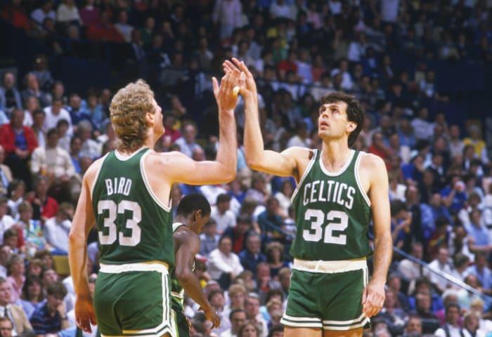 Larry Bird and Kevin McHale, Boston Celtics