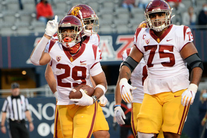 No. 20 USC (2-0) at Utah (0-0), Saturday, 10:30 p.m., ESPN