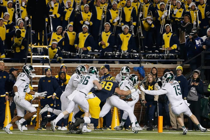 Michigan's punt fail gives Michigan State the win