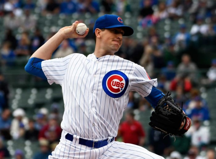 2012: Rangers trade Kyle Hendricks to the Cubs for Ryan Dempster