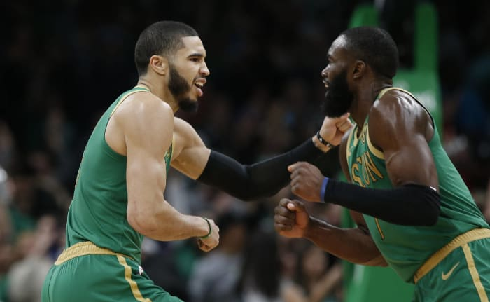 Boston Celtics: How high can Tatum and Brown rise in the bubble?
