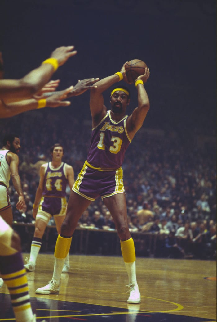 Wilt wins Finals MVP with the Lakers
