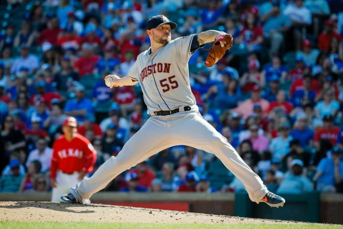 2018: Astros acquire Ryan Pressly from the Twins for two prospects