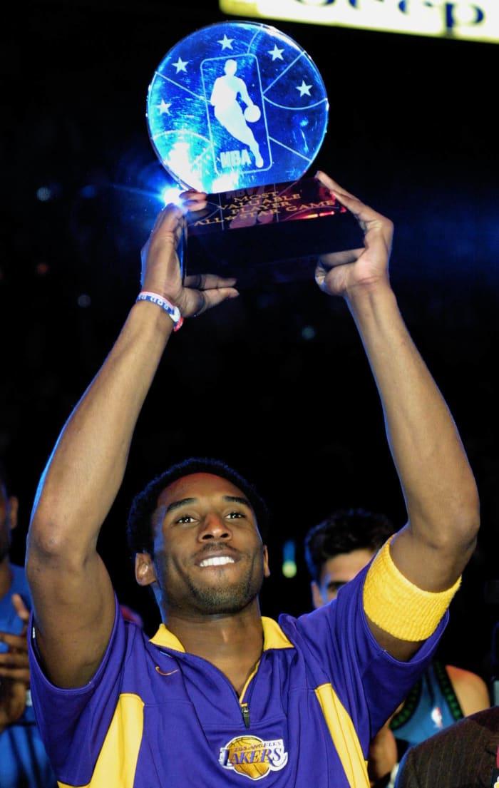 Kobe Bryant wins MVP in Philadelphia in 2002