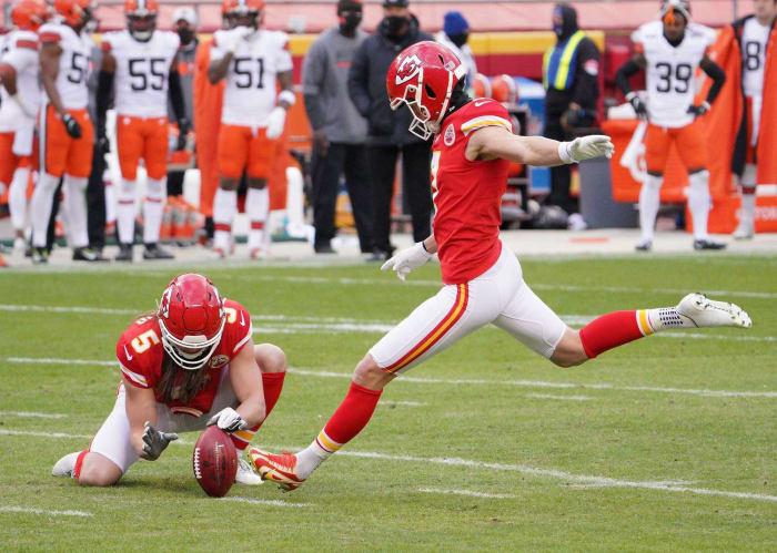 Chiefs: Harrison Butker, K