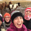 A student studying abroad with The GREEN Program: Iceland - Sustainability and Renewable Energy Abroad