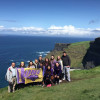 A student studying abroad with University of Northern Iowa: Capstone in England and Ireland