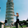 A student studying abroad with Voyager Europe: Traveling Summer Program