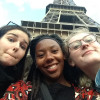 A student studying abroad with MICEFA: Summer Program in Paris