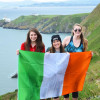 A student studying abroad with Irish Studies Summer School: Dublin - Study Abroad at Trinity College Dublin