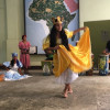 A student studying abroad with ThisWorldMusic: Music and Dance Programs in Cuba