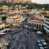 A student studying abroad with NWACC: Study Abroad in Greece