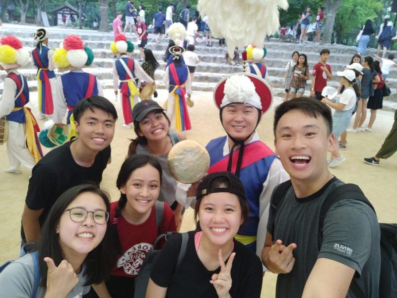 1 School, 2 Months, Infinite Memories!!   A review for Korea