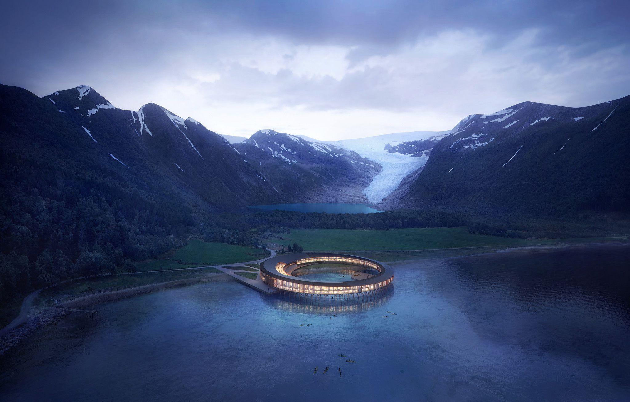 Svart - норвежский отель-электростанция