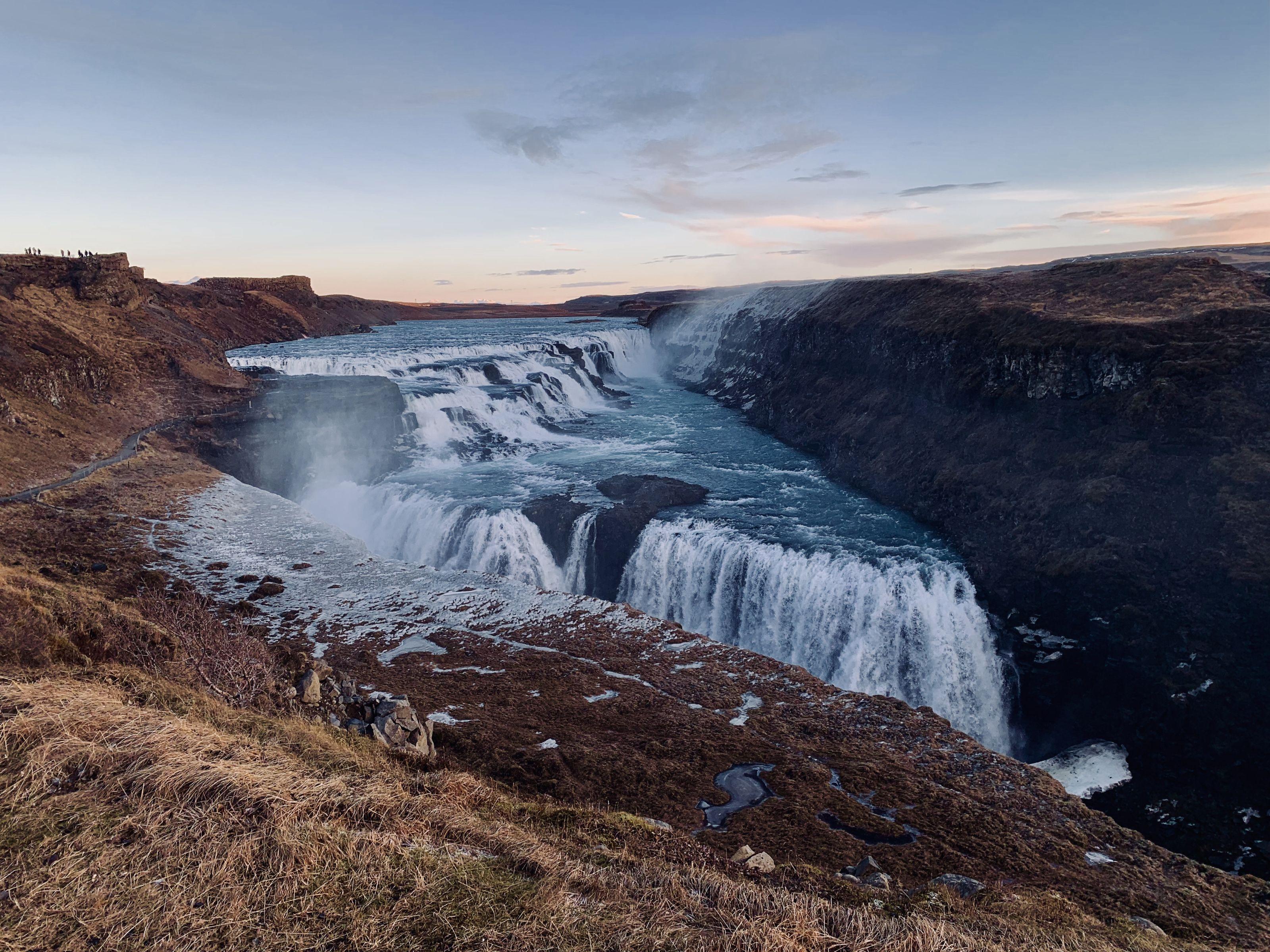 Фотографируем водопады Исландии