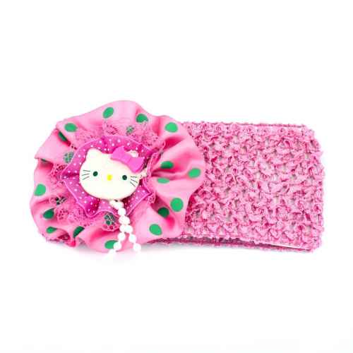 Dark Pink Hello Kitty Hair Band for Kids