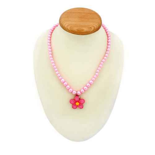 Set- Pink Necklace, Bracelet and Ring for Kids