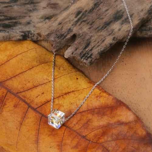 Square Stone Swarovski crystal Bracelet