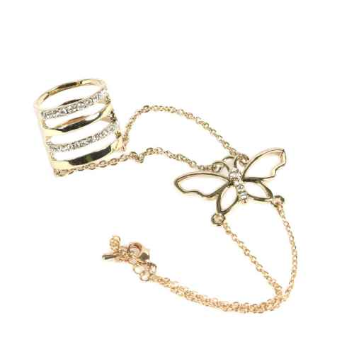 Butterfly chain ring