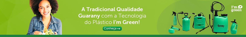 A Tradicional Qualidade Guarany com a Tecnologia do Plástico I'm Green!