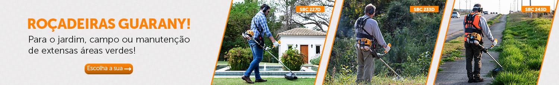 Para o jardim, campo ou manutenção de extensas áreas verdes!
