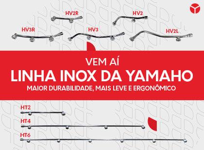 Linha Inox Yamaho