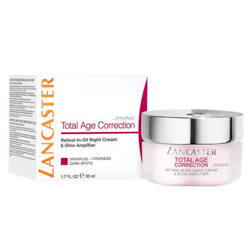 Lancaster Total Age Correction Amplified Night Cream & Glow SPF 15