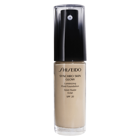 Shiseido Synchro Skin Glow Luminizing Fluid Foundation SPF 20 02 Neutral 30 ml
