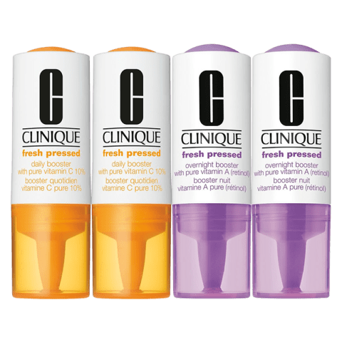Clinique Fresh Pressed Daily & Overnight Booster 1 Set