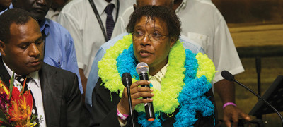 First Female Minister Commissioned in PNGUM