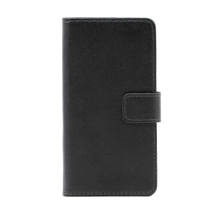 For Samsung J5 2017 Clamshell Leather Sheath Black