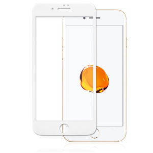 For iPhone 7 Plus 3D Full Cover Tempered Glass Screen Protector White