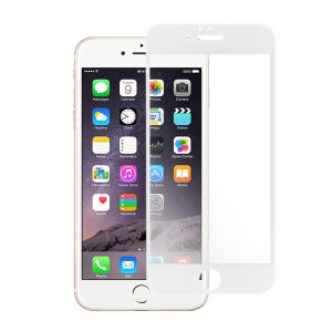 For iPhone 6 2.5D0.3mm 9HTemperedGlassScreenProtectorWhite